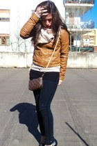 Tendenze jacket - Armani Jeans jeans - Louis Vuitton bag - Guess cardigan