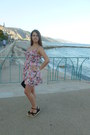 Bershka-dress-minelli-sandals-d-g-watch-moa-earrings