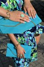 Violet-new-yorker-ring-navy-zara-dress-sky-blue-mohito-bag