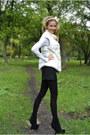 Luciano-carvari-shoes-sassofono-sweater-pierre-balmain-skirt