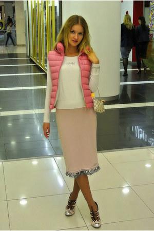 sassofono skirt - Zara jacket - antonio biaggi heels