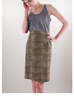 100 silk mara hoffman skirt