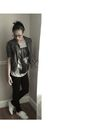 Gray-forever-21-jacket-silver-h-m-shirt-black-charlotte-russe-pants-white-
