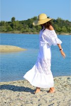 zini blouse - Achilleas Accessories hat - zini skirt