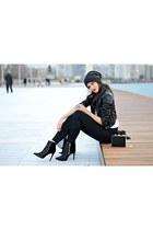 croc Brigitte Boutique bag - leather Brigitte Boutique jacket