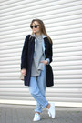 Navy-oversized-jaeger-coat-blue-levis-jeans