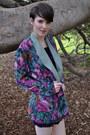 Vintage-dress-vintage-blazer