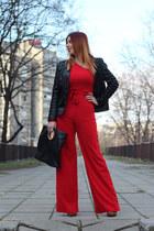Popjulia shoes - zaful jacket - Zara bag - Femmeluxefinery suit