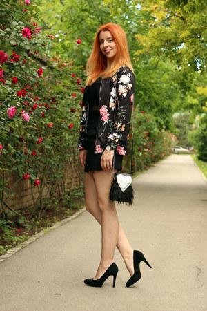 floral Rosegal jacket - black GAMISS bag - black Mockberg watch