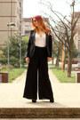 Zara-blazer-femmeluxefinery-intimate-bata-heels