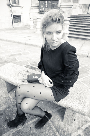 Self Made dress - girardi tights - Chanel accessories - Zara shoes