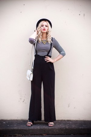 Forever 21 pants - Primark bag - dottyhollycom necklace