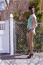 Forever 21 shirt - Aldo sunglasses - H&M pants