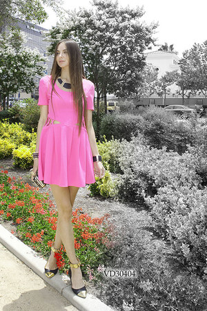 hot pink very J dress - dress
