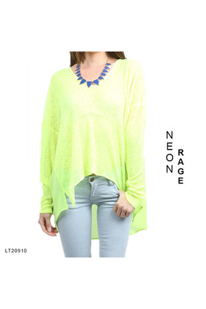 lime green VeryJ top