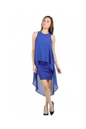 blue dress very J dress