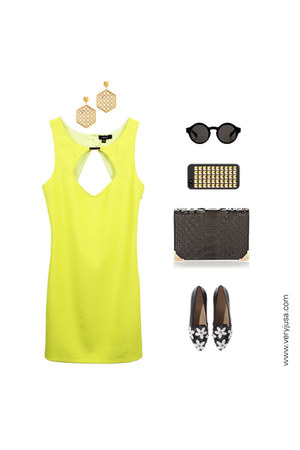classic cut out very J dress