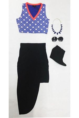 VeryJ top - VeryJ skirt
