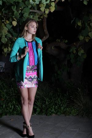 VeryJ blazer - VeryJ skirt - VeryJ blouse