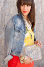 Sky-blue-denim-jacket-h-m-jacket-gold-glitter-kate-spade-bag