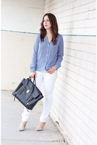 black pashli 31 Phillip Lim bag - white H&M jeans