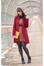 Brick-red-oxblood-forever-21-coat-burnt-orange-darling-dress