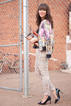 jungle print scotch and soda jacket - cheetah print Joes Jeans jeans