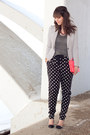White-stripes-h-m-blazer-hot-pink-neon-urban-outfitters-bag