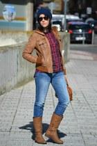 Stradivarius jacket - suiteblanco jeans - Stradivarius shirt