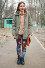 Brick-red-romwe-leggings-tawny-accesories-pieces-bag-olive-green-h-m-hoodie