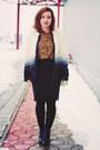 Ivory-sheinside-coat-bronze-dresslink-blouse-black-rita-and-phill-skirt
