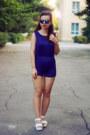 Blue-dresslink-sunglasses-white-wholesalebuying-sandals