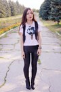 Black-oasap-leggings-heather-gray-romwe-necklace
