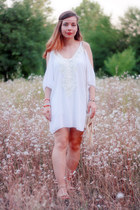 white cotton DressLink dress