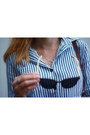 Brown-lines-current-sunglasses-periwinkle-necklace-lines-current-necklace