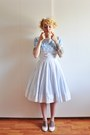 White-50s-cotton-vintage-dress-white-nelly-pumps