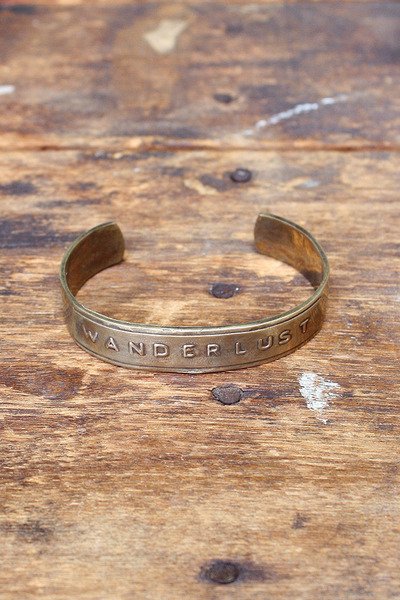 brass cuff Bing Bang by Anna Sheffield bracelet