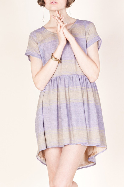 periwinkle babydoll Myne dress