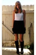 Target skirt - Marshalls shirt - Charlotte Russe boots