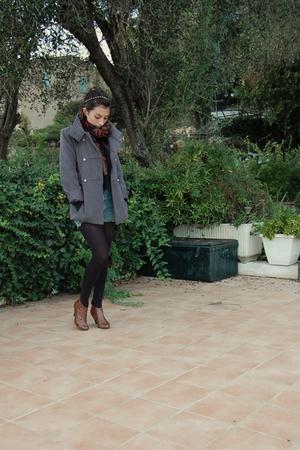 Chipie coat - shoes - Petit Bateau top - shorts