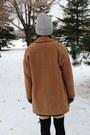 Black-zara-boots-camel-wool-topshop-coat-silver-aldo-hat