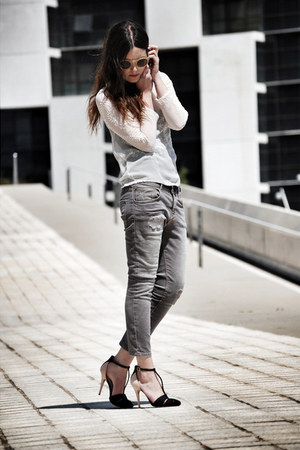 Zara jeans - Zara heels - Zara top