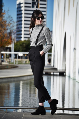 Shellys London shoes - asos pants - PERSUNMALL top