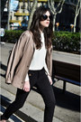 Leather-vintage-jacket-miu-miu-sunglasses-kleymac-pants-zara-top
