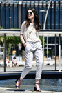 Zara-pants-massimo-dutti-heels-sita-murt-top-daniel-wellington-watch