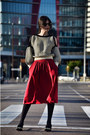 Zara-shoes-sheinside-sweater-pepa-loves-skirt