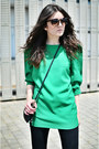 Persunmall-dress-topshop-jeans-bottega-veneta-sunglasses