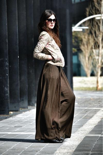 Love jacket - Zara pants - les jumelles ring