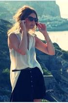 Stradivarius blouse - Forever 21 skirt