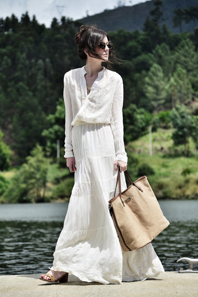 Mango dress - Zara shoes - Mango bag - Miu Miu sunglasses